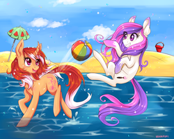 Summertime by Renaifoxi