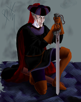 Claude Frollo - in Color 10 by killerinsight