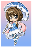 Chibi Kumoriko 2009 by Chevi