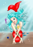 Bra Mermaid by PrincessSammO