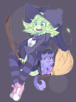 Witchdot by punipaws