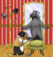tuxedoes for penguins by Lizzy23