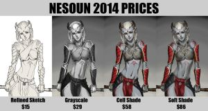 2014 Prices by nesoun