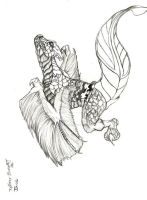 feathered dragon by GreekGodess07