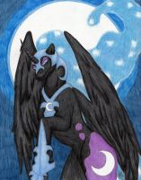 Nightmare Moon Returns by Lunarlight-Prism