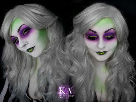 Lady Beetlejuice Makeup (with Tutorial) by KatieAlves