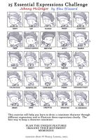 25 expressions of Johnny by I-Am-Bleu