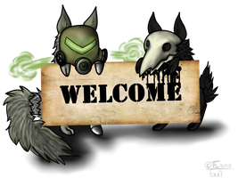 Plague and Disease Welcome by EruruuTail