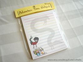 Adventure Time Notepad by MyFebronia
