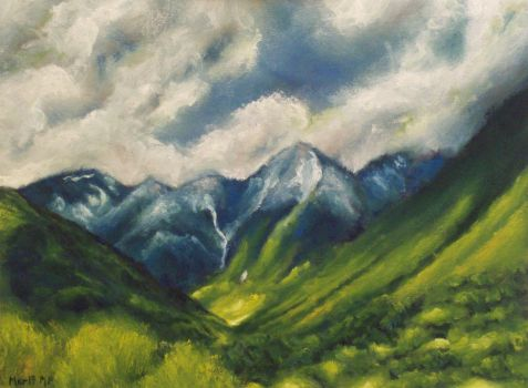 Mountains by mp2015