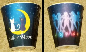 Sailor Moon Luna and Artemis Cup by avaneshop