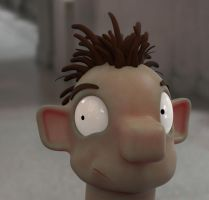 Zbrush doodle day 282 - Chad by UnexpectedToy