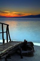 pre-dawn on Gili Air by islandEye