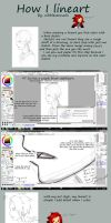 Lineart Tutorial by nibblesonnails