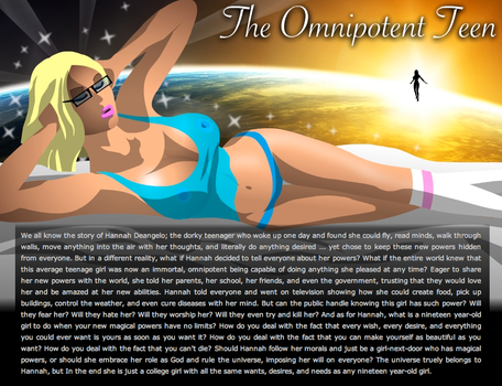 Cover Art for The Omnipotent Teen by supernaturalerotica