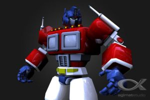 Optimus Prime Revisited v2 by shadowfork