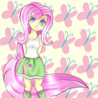 Fluttershy by Fainting-Ostrich