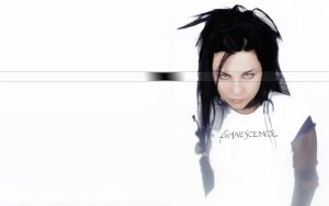 Amy Lee Wallpaper by jaidaksghost
