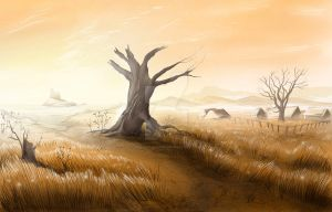 Tabernacle Concept: Fields by BettinaMarson