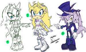Sonic Adoptables #18 -CLOSED by shadowhatesomochao