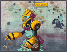 Flower bot by Humblebot
