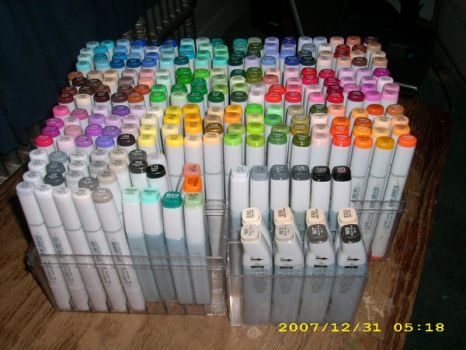 My Copic marker collection upd by MissTopaz