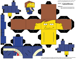 Cubee - Mayor Quimby by CyberDrone