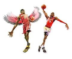 NBA stars4 by A-BB