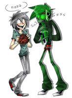 Rasputin and Creeper by BlasticHeart