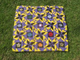5 Element Quilt Part 6 by WillowForrestall