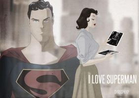 I Love Superman by DESPOP