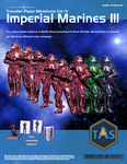 Traveller Paper Minis Vol 4 Imperial Marines III by MADMANMIKE
