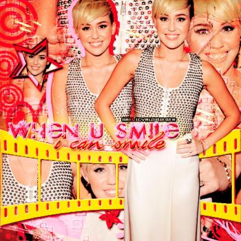 Miley's Blend - Smile by AreliCyrusBieber