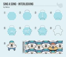 Sing A Song - Interlocking by Imp012