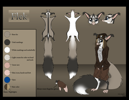 Flek ref sheet by Krissyfawx