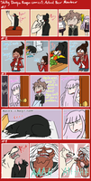 Shitty Dangan Ronpa comics #1 by Chradi