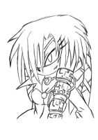 Lien Da Lineart - Photoshop by ShadnicFusion