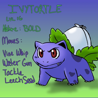 PKMN Fusion Ivytortle by Little-Lovely