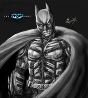 The Dark Knight by oxoxoxo