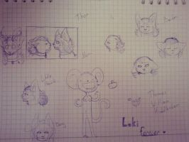 :School doodles: by xDorchester