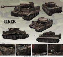 Tiger Tank by ThoRCX