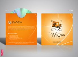 InView CD Cover design by mezoomar