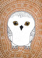 White Owl by RedCloudlet