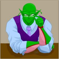 Professor Piccolo by shadesoflove