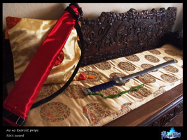 cosplay props: Rin's sword by SPISIS