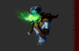 Raziel of Legacy of Kain: Soul Reaver by DonTranes