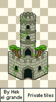 Forest tower v2 for Milomilotic by Hek-el-grande