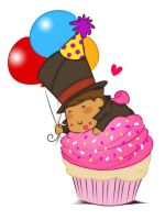 Birthday thanks from chibi Layton :D by zillabean