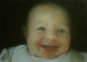 Another  baby painting by rorsdors
