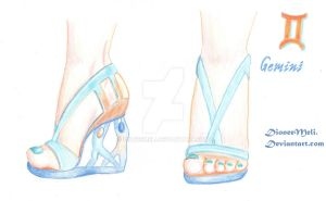 Zodiac Chic Shoes -Gemini by DioneeMeli